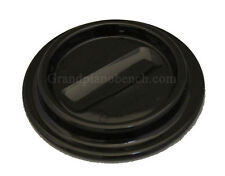 "Piano Caster Cups 4-1/2"" Black Lucite - Ebony"