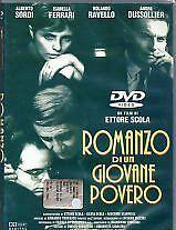 Romanzo di un giovane povero (1995) DVD Ettore Scola Alberto Sordi Ferrari