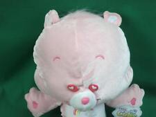 NEW PINK BABY GIRL CHEER CARE BEAR CUB HEART EYES PLUSH STUFFED ANIMAL NANCO TOY