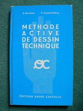Méthode active de dessin technique André Casteilla 1971