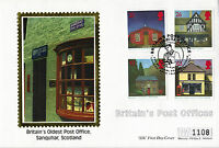 12 AUGUST 1997 POST OFFICES MERCURY SILK LIMITED EDITION FIRST DAY COVER SHS