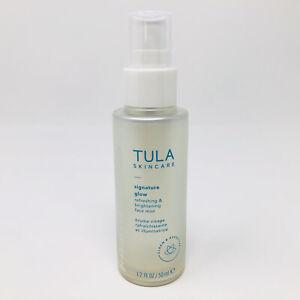 Tula Skincare Signature Glow Refreshing & Brightening Face Mist 1.7oz/50ml New