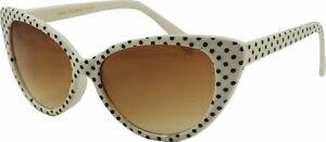 Cat Eye Sunglasses Ladies Women Retro Vintage Shades Designer