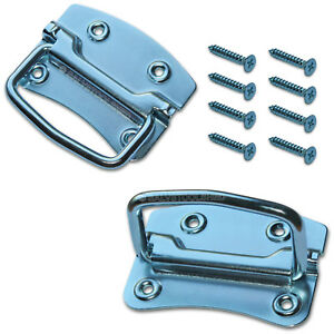 Chest Handles Case Toolbox Storage Tool Box Handle Drawer Puller Set of 2