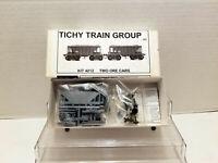 Tichy Train Group 22' WOOD ORE CAR (2) CARS 4012