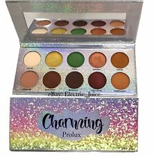 *NEW* Charming Prolux Palette 10 Colors Eyeshadow Palette Matte Metallic Eyes