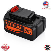 New LBXR20 20V Matrix Lithium Ion Battery For Black & Decker LCS1620 LDX220 4.0A