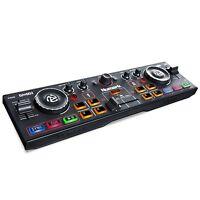 Numark DJ2GO2 - Controlador de DJ ultraportátil de dos canales con interfaz
