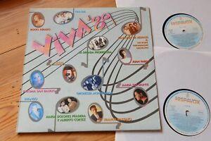 Viva 89 sampler mit spanischen Hits 2 LP Hispavox 79 1656 1