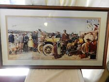Le Vainquer Americain The American Hero by James Dietz Framed Matted LE #476/750