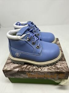 Vintage Timberland Toddler Boots Chukka Cornflower Blue Size 7 11877 NOS NEW!