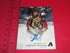 2013 Bowman INCEPTION Stryker TRAHAN Prospect Autograph SP Arizona DIAMONDBACKS