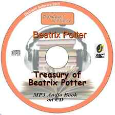 Treasury of Beatrix Potter - Mp3 Audio Book 19 Chapters on CD
