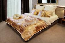 Merino Wool  & SATIN Combination Duvet / Quilt  King Size + 2 PILLOWS 45/75cm