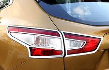 4pcs ABS Rear Tail Light Lamp Surround Trim for Nissan Qashqai 2014 2015 2016