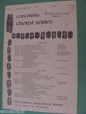 Prepare the Way O Zion SA choral hymn 1959 Franz Franzen