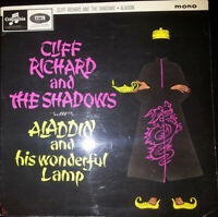 "Cliff Richard  Aladdin And His Wonderful Lamp Vinyl 12"" LP Album 33SX 1676 1964"