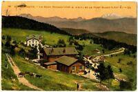 CPA 73 Savoie Aix-les-Bains Le Mont-Revard et le Mont-Blanc