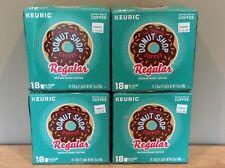 The Original Donut Shop Keurig Regular Coffee Medium Roast  4 (18 ct) Boxes 72