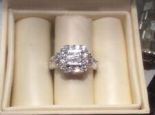 H. Samuel Cluster White Gold Fine Rings