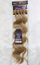 "French Kiss #20 Keratin U-TIP Remy Human Hair Extension 18"" Wavy 100 pcs"