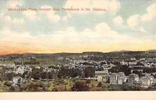 Winchendon Massachusetts Monadnock Birdseye View Antique Postcard K18147