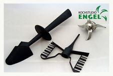 Set Messer + Schmetterling + Spatel geeignet für Thermomix TM21 Vorwerk NEU
