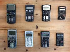 8 Calculator: Texas Instruments TI-83, IT-83 Plus, IT-30X, BA II Plus, FG-350ML