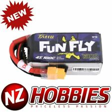 Tattu FunFly 1300mAh 100C 14.8V 4S1P lipo battery pack w/ XT60 Plug