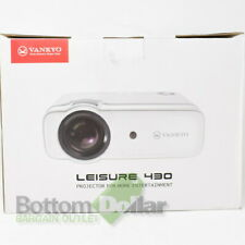 VANKYO Leisure 430 Mini Built-in Speaker HDMI/AV/VGA/USB Video Projector White