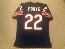 MATT FORTE AUTOGRAPHED SIGNED  CUSTOM BEARS JERSEY SCHWARTZ SPORTS