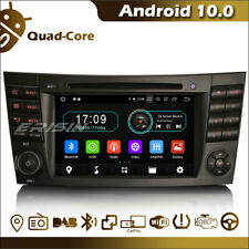"""7"""" Android 10.0 Car Radio BT GPS 4G WiFi SD for Mercedes E/CLS/G Class W211 W463"""