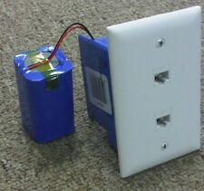 Spy Hidden Camera Motion Detect Telephone Box With 30 Day Battery