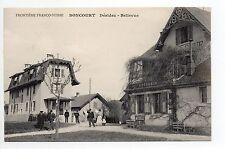 SUISSE SWITZERLAND Canton du JURA BONCOURT déridez bellevue  Epicerie