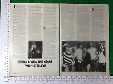 Steeleye Span vintage magazine article / feature 1981