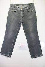 Lee Ranger (Cod.Q307) Tg54  W40  L30  jeans usato vintage nero