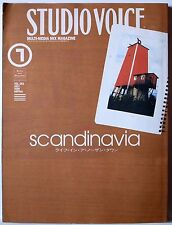 STUDIO VOICE MAGAZINE - VOL.283 JULY 1999 / SCANDINAVIA / INFAS JAPAN