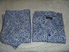 Mens Gents Champion Quality Paisley Pattern Warm Brushed Winter Cotton Pyjamas