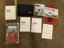 2018 Audi A7 Owners Manual Book With Case Oem !