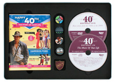 HAPPY 40th BIRTHDAY Time Capsule Tin - Booklet , Card , DVD , Compilation CD etc