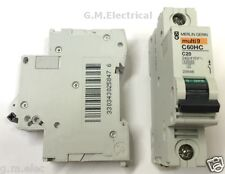 MERLIN GERIN 20 AMP TYPE C 20A MCB BREAKER C60HC120 MULTI 9 SCHNEIDER 25646 NEW