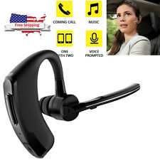 Wireless Stereo Bluetooth Headset Headphone Noise Cancelling for Business Driver