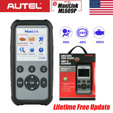 AUTEL ML609P Automotive Diagnostic Scan Tool Engine SRS ABS Airbag OBD2 Scanners