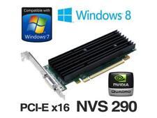 SCHEDA VIDEO GRAFICA PCI EXPRESS 256MB DDR2 NVIDIA NVS QUADRO 290 DMS 59