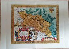 Landkarte map: Silesiae Typus zeigt eine Karte von Schlesien.