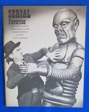1971 SERIAL FAVORITES Screen Facts FN 52 pgs Superman Boris Karloff Robot Cover
