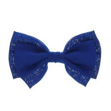 Accessoires de coiffure barrettes bleus pour femme