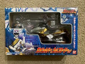 Power Rangers Wild Force Gaoranger Gao Silver & Wolf Roader Vehicle BANDAI