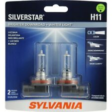 Sylvania H11 Silver Star HIGH PERFORMANCE Halogen Headlight Bulbs Pack of 2