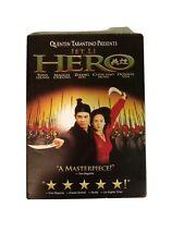 Hero (Dvd, 2004) Starring Jet Li, Tony Leung, Maggie Cheung, Zhang Ziyi,and More